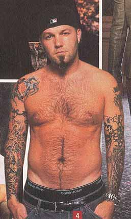 And this time it's Fred Durst. Apparently that idiot made a little homemade ...